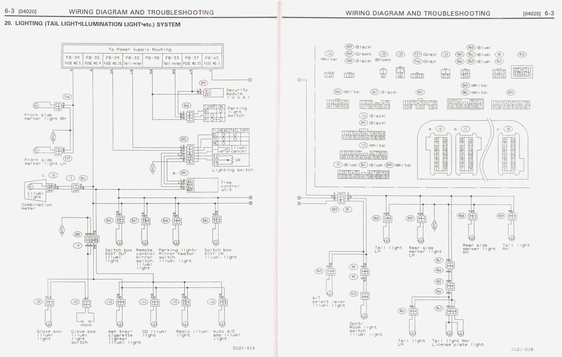 subaru svx alternator wiring diagram html